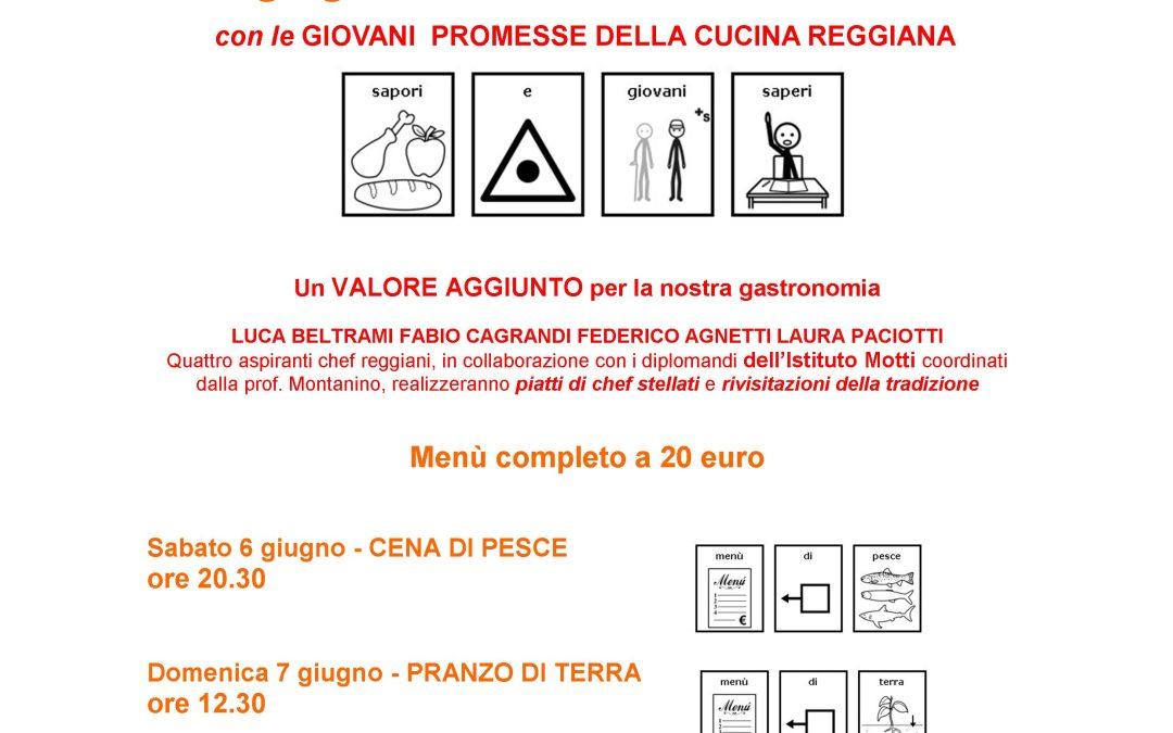 """6 e 7 GIUGNO AL PARCO LAVEZZA DI ALBINEA """"SAPORI E GIOVANI SAPERI"""""""