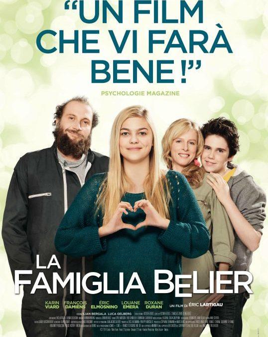"""3 DICEMBRE AL CINEMA DI ALBINEA ORE 21,00 """"LA FAMIGLIA BELIER"""""""