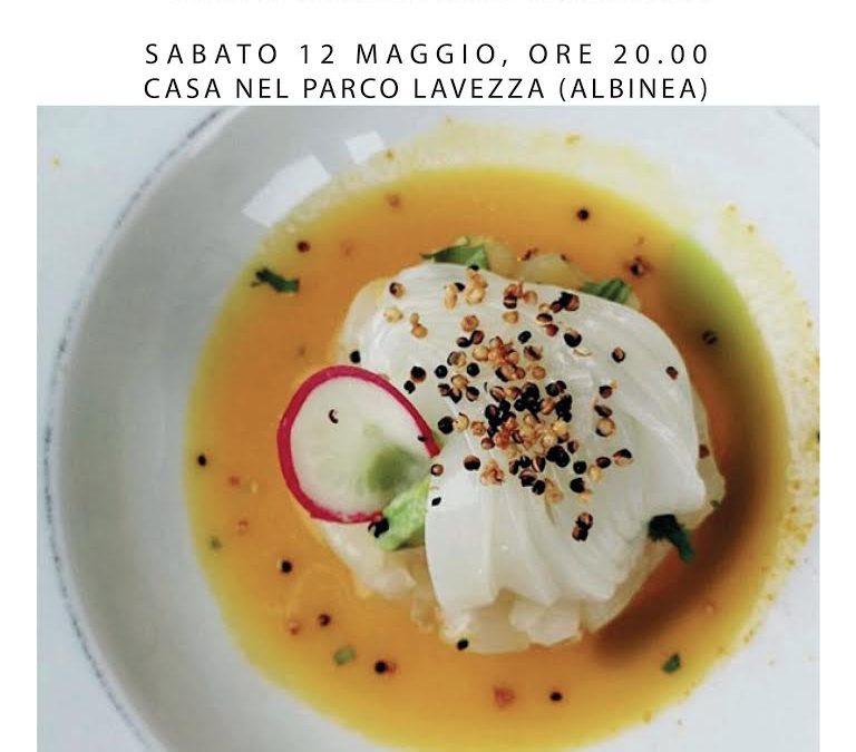 """CENA """"SAPORI E GIOVANI SAPERI"""" 12 MAGGIO 2018 AD ALBINEA"""